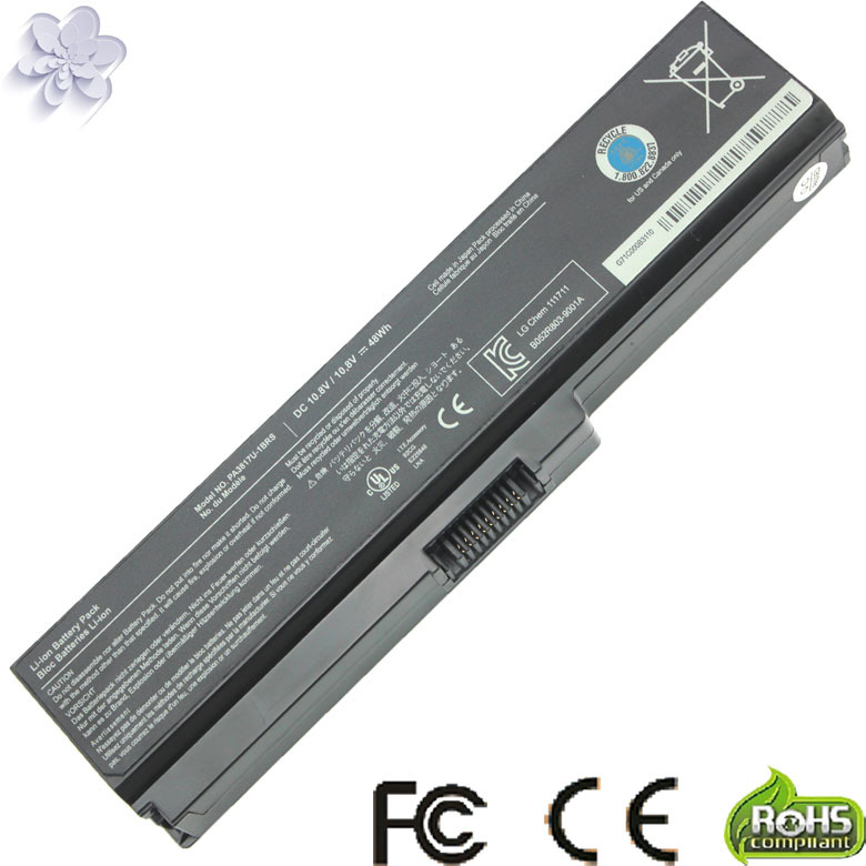 Laptop Replacement Battery TOSHIBA Satellite L645 L655 L700 L730 L735 L740 L745 L750 L755 PA3817 PA3817U PA3817U-1BRS 3817 - Rinoa store