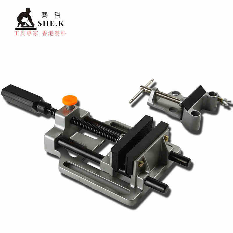 High-end flat-nose pliers flat bench vise precision aluminum alloy flat push small vise vice tables<br><br>Aliexpress