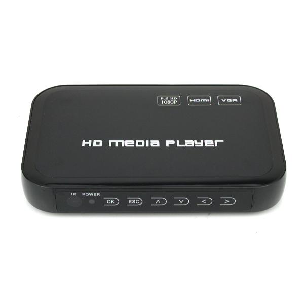 Full HD 1080P USB HDD Media Player HDMI VGA MKV H.264(China (Mainland))