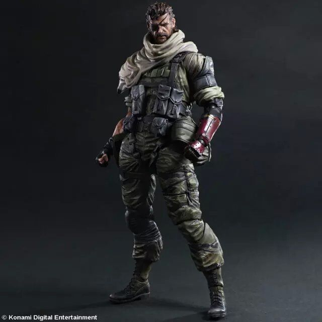 Metal Gear Solid V The Phantom Pain Venom Snake PVC 23CM Action Figure Collection Game Model Dolls Kids Toys Free Shipping(China (Mainland))
