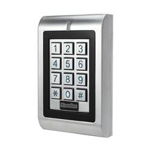 Impermeabile doppio relè di controllo di accesso tastiera standalone ip66 vandal esterna porta aperta tastiera 1100 utenti 125 khz di prossimità carta(China (Mainland))