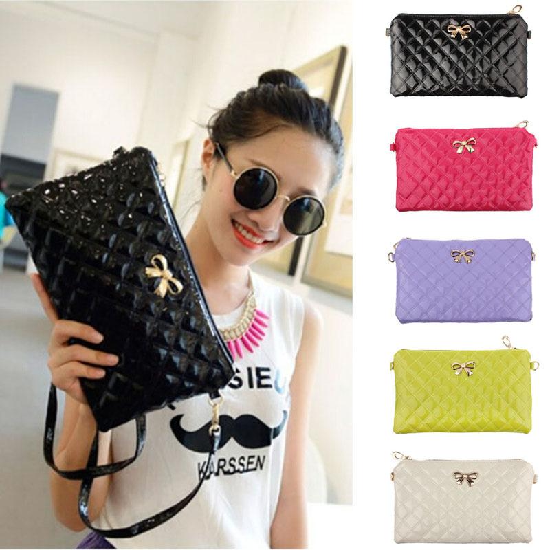 Hottest Vintage PU Leather Bag Handbag Candy Color Fashion Ladies Shoulder Bag Women's Messager Bag colored Totel High Quality(China (Mainland))