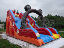 Outdoor giant commercial inflatable slide, jumping slide, inflatable bouncer for children(China (Mainland))