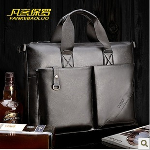 male brand genuine leather handbag ,briefcase portfolio messenger business suitcase ,dispatch folio attache case - foryou bag shopping mall store