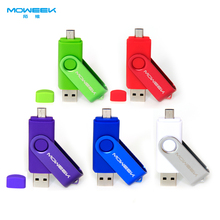 Moweek M32 OTG USB Stick 4 / 8 / 16 / 32 / 64 GB USB flash Drive USB 2.0 Memory Stick móvil USB Pen Drive de regalo(China (Mainland))