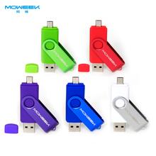MOWEEK M32 OTG USB stick 4/8/16/32/64GB usb flash drive usb 2.0 Memory Stick phone USB Pen Drive gift(China (Mainland))
