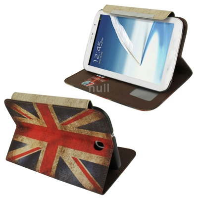 Гаджет  Retro UK Flag Pattern Horizontal Flip Leather Case with Holder and Credit Card Slots for Samsung Galaxy Note 8.0 / N5100 None Изготовление под заказ