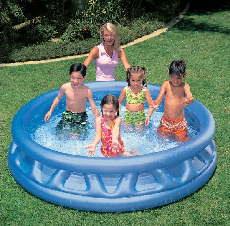 Popular intex paddling pool buy cheap intex paddling pool for Family paddling pool
