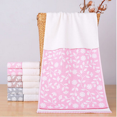 Free Shipping High Quality 33*72cm Cotton Leaf Towel Soft Absorbent Face Towel Brand Towel for Adults Home Towels Toallas TL0008(China (Mainland))