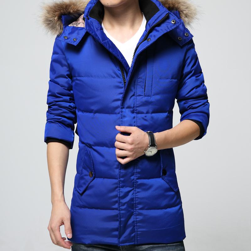 Фотография Duck down jacket men winter jacket man Thick warm coat parka homme manteau hiver homme veste hiver homme new 2015 plus size 4XL