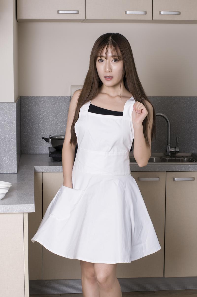 Plain white kitchen apron - Plain White Cotton Kitchen Apron For Woman Cooking Waitress Salon Hairdresser Avental De Cozinha Divertido Pinafore