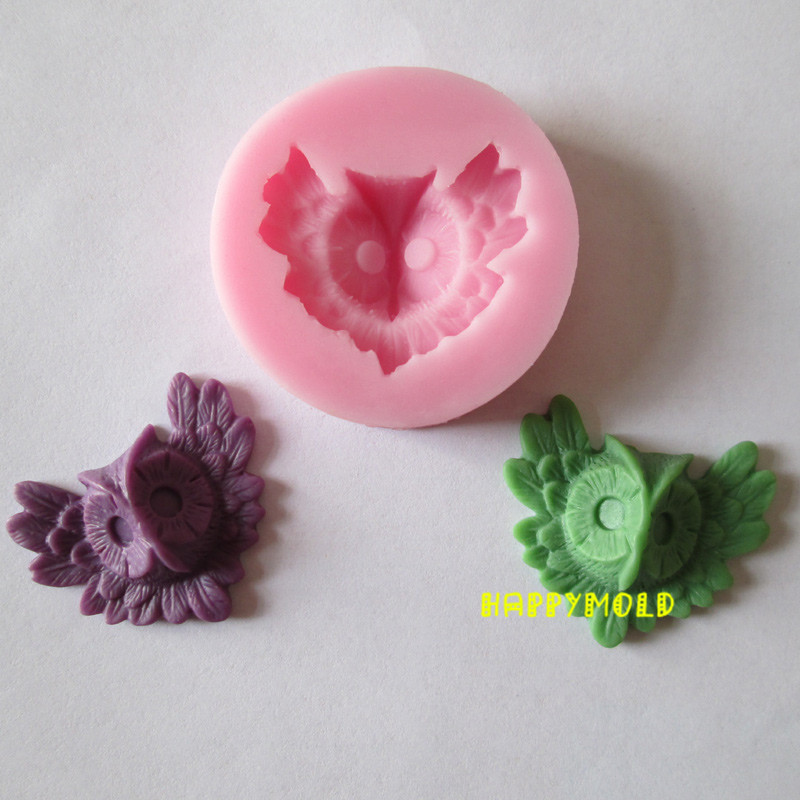 Aliexpress.com : Buy New owl animal resin molds fondant ...