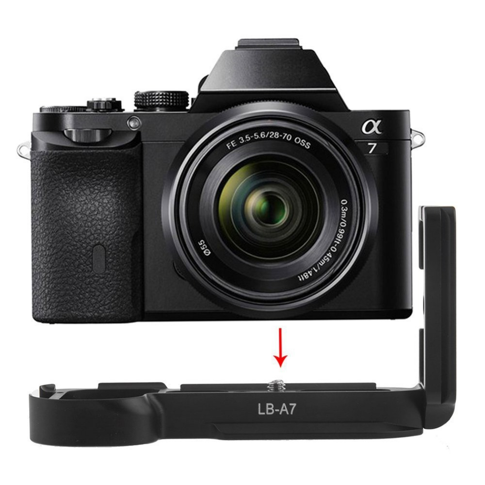 A#V9 L Plate Quick Release Plate Bracket for Sony Alpha 7 A7 A7R Arca Swiss Free Shipping<br><br>Aliexpress