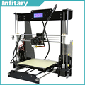Updated Big size 220x220x240 mm Precision Reprap Prusa i3 DIY impresora 3d delta with 25m Filament