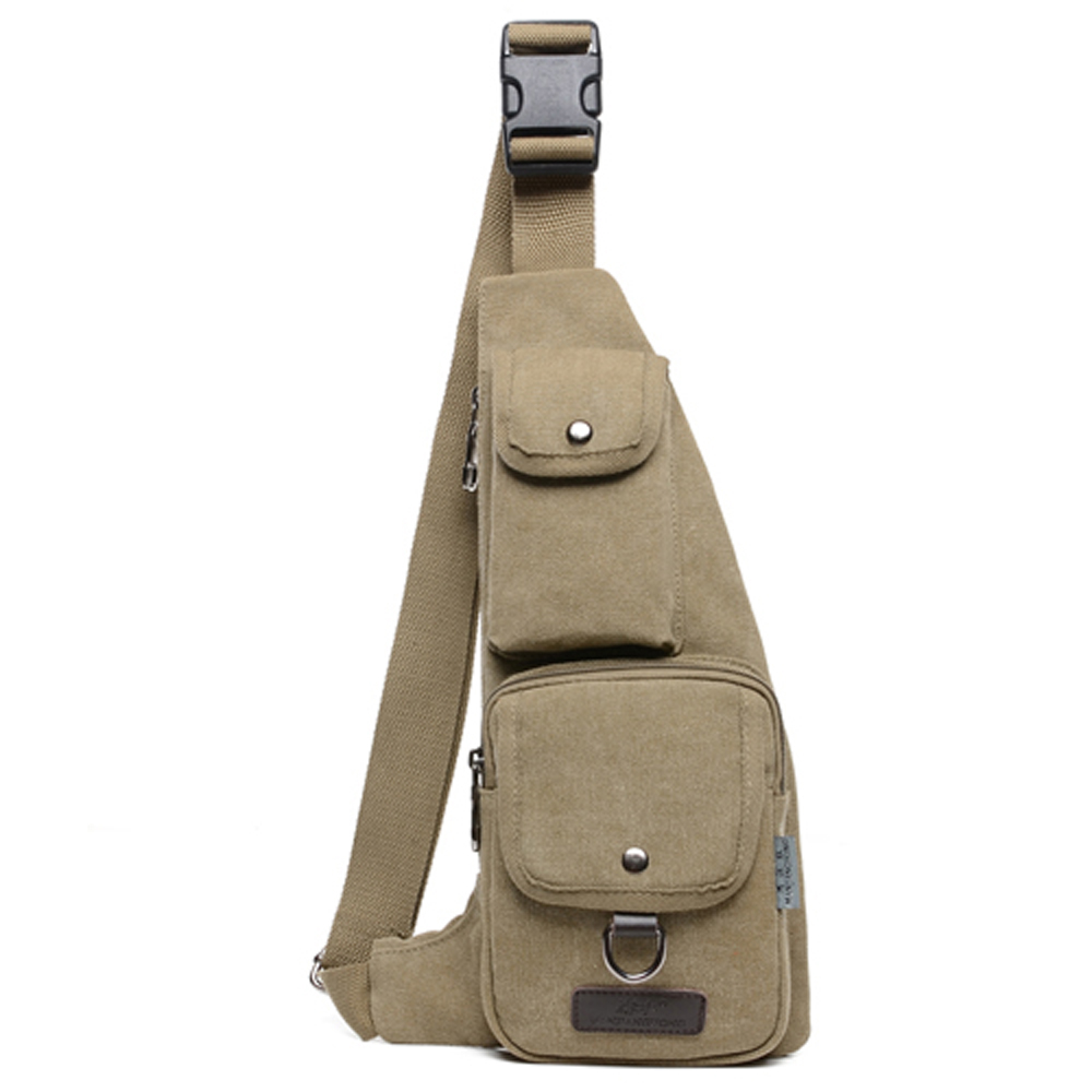 Гаджет  Vintage 2015 Casual Men Messenger Bags Brand Canvas Sport Crossbody chest Bags Single Shoulder Chest Bag Tactical MenTravel bags None Камера и Сумки