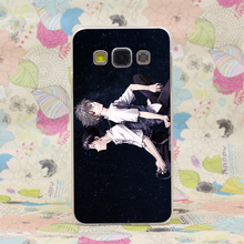 741HJ Neon Genesis Evangelion Shinji Ikari Hard Transparent Case Cover for Galaxy A3 A5 7 8 J5 7 Note 2 3 4 5 & Grand 2 Prime