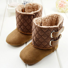 Baby Boy Girl Shoes Soft Sole Kids Toddler Infant Baby Boots Prewalker Girls First Walkers 29