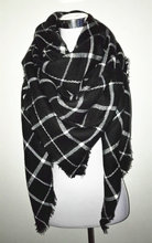 za Winter 2016 Tartan Scarf Desigual Plaid Scarf New Designer Unisex Acrylic Basic Shawls Women's Scarves hot sale za scarf(China (Mainland))