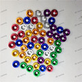 Fender Washers 1set 8pcs washers and bolt With logo Silver red yellow green Purple blue