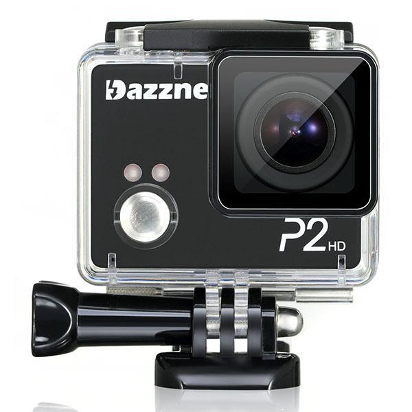 DAZZNE P2 Action Camera Cam Wifi Video Cameras Full HD 1080P Waterproof Sport DVR Mini Camcorder With Accessories(China (Mainland))