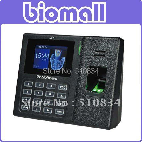 "H5 Standalone Desktop fingerprint time and attendance with 3"" TFT Screen USB S_D Card SSR Report wholesale and retail"