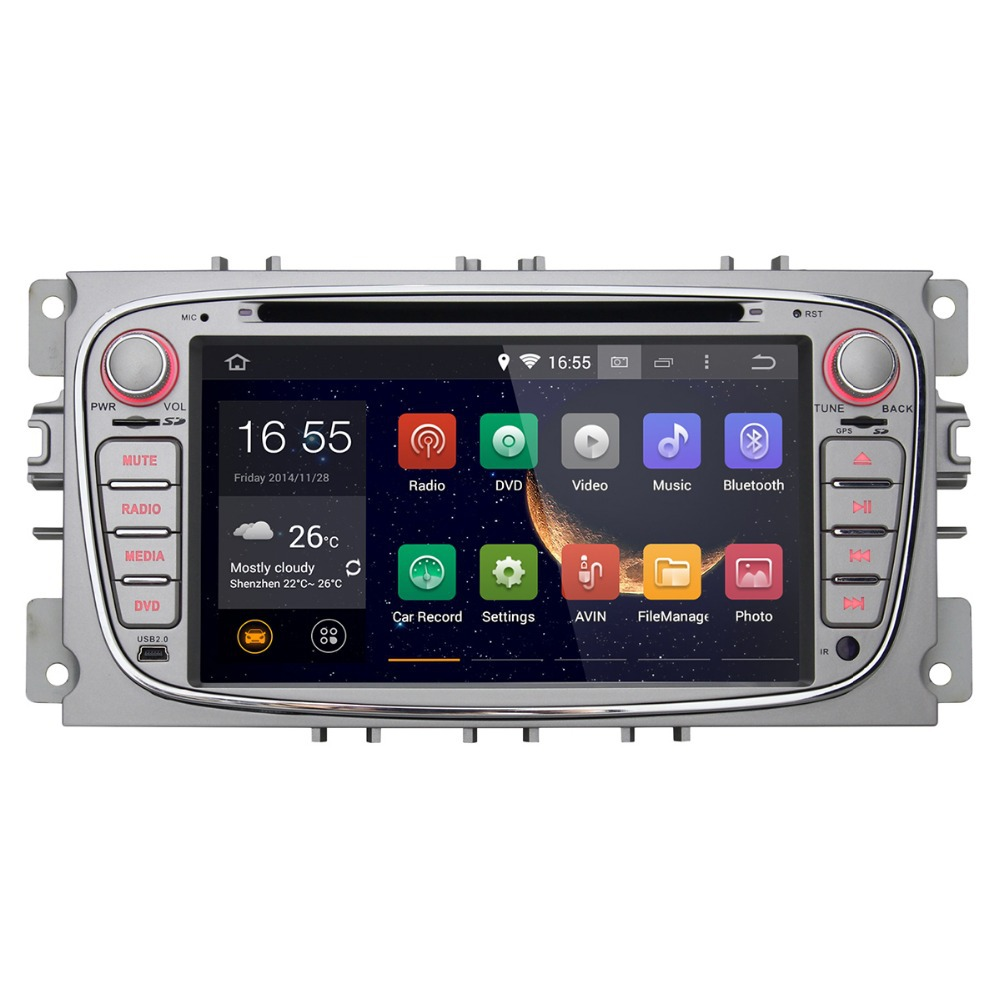 Head unit double din touch screen car radio player gps for Ford focus 2007-2010(China (Mainland))