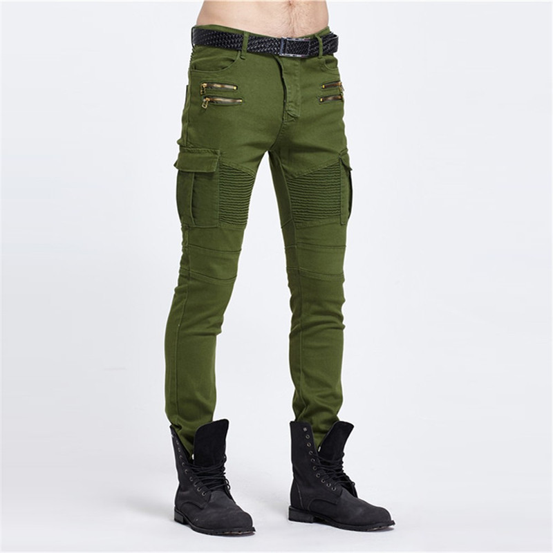 Online Get Cheap Green Denim Jeans Men -Aliexpress.com | Alibaba Group