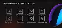 Женские солнцезащитные очки TRIUMPH VISION Oculos 2015 Lentes TV-GP701