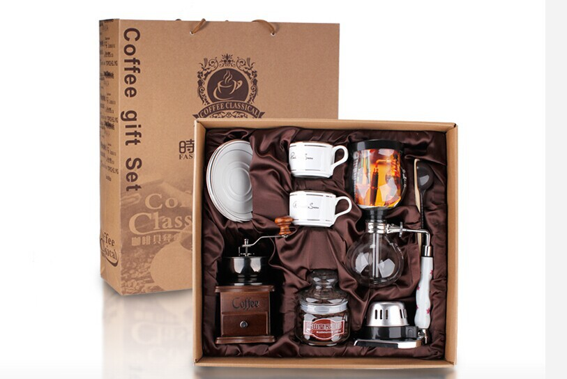 Syphon Coffee Pot Set Christmas box gifts Syphon Coffee Business Gifts Coffee Pot