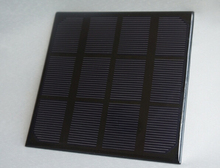100pcs/lot 3W/6V Size 145x145x3mm solar panel for power bank and mobile charger
