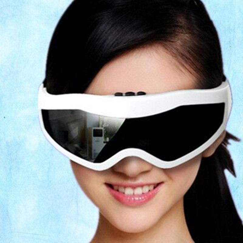 Electric Eye Care Massage USB glasses Mask Relaxation Alleviate Fatigue Vibration Health Care Forehead 2*AAA Battery QA041-SZ(China (Mainland))