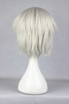 Short Silvery Anime Wig