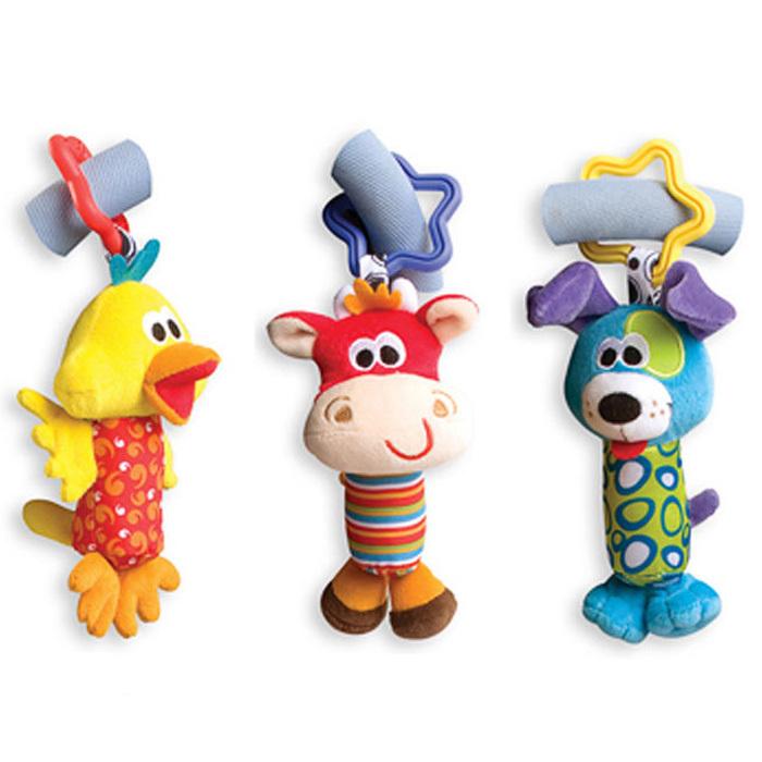 Детская погремушка Baby Toy 3pcs 0 + Baby Rattle