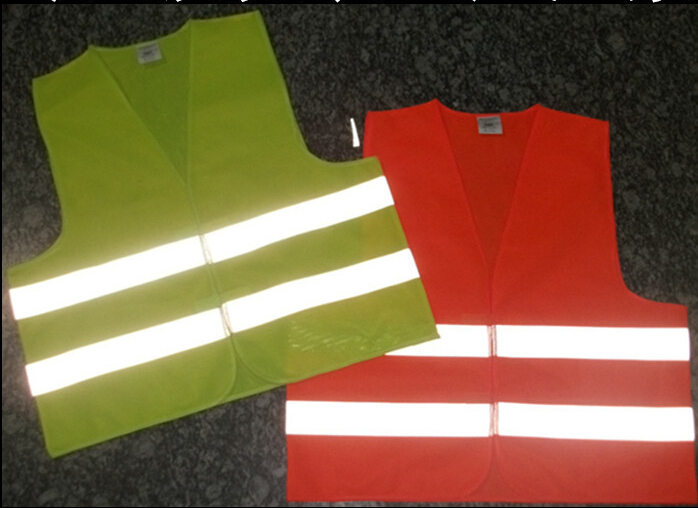 Safe in Night Reflective Work Cltoh Wear Safety Coat Reflective Vest Jacket Security Traffic Construction Uniform