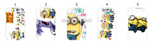 2014 Hot New  5pcs/lots hot wholesale despicable me hard white  case cover for Blackberry 9360 + free shipping(China (Mainland))