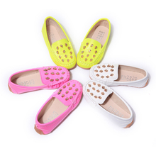 Infant Shoes for Girls Rivet Shoes Autumn New Female Baby Princess summer spring girl shoes rivets flat single children's shoes