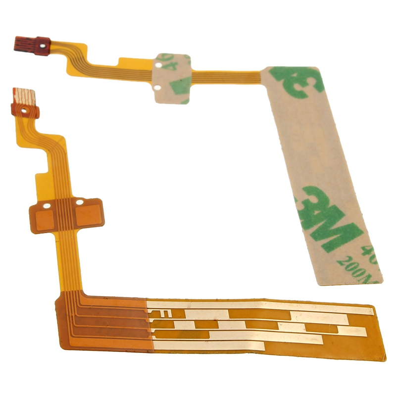 Best Promotion 2Pcs Replacement Lens Line Aperture Flex Cable For Canon EF-S 18-55mm IS Hot Sale(China (Mainland))