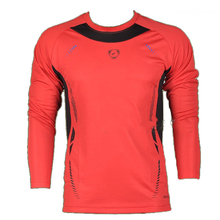 New Fashion Long Sleeve Fitness Mens T Shirts Sport Compression Mens Fitness T Shirts Exercise Cycling Sportswear Tops Tee