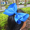 "Pinwheel Hair Bow with Elastic Bands 3.5"" Hairbow Baby Girls Hair Accessories PonyTail Holder Hair bands Dovetail bows 40pcs"