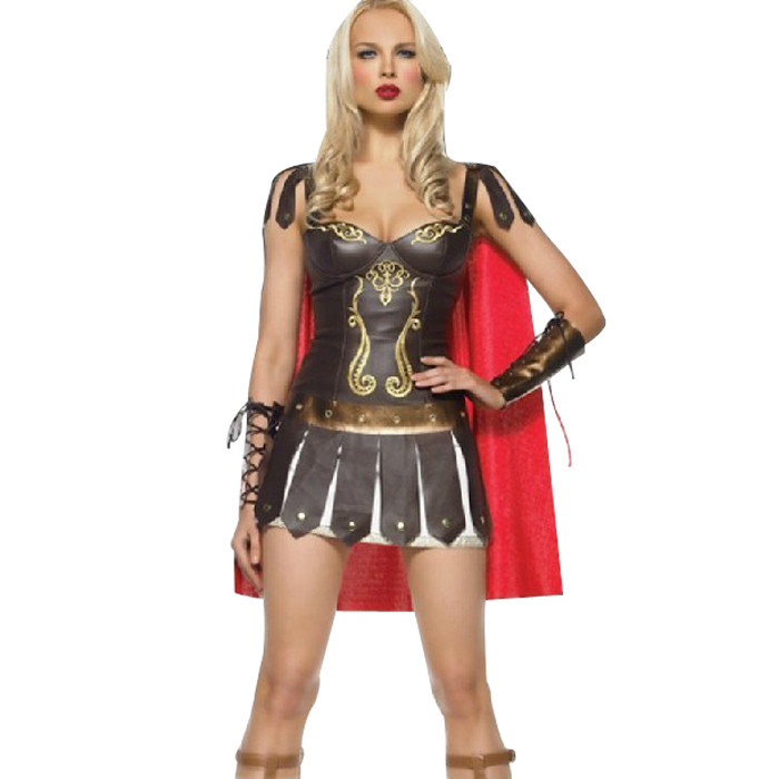 Ladies Roman Greek Xena Gladiator Warrior Princess Roman Spartan Costume women sexy party cosplay halloween wholesale 5031-in Clothing from Novelty & Special Use on Aliexpress.com | Alibaba Group