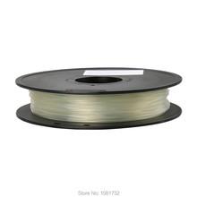 Transparent Color 3D Printer Filaments ABS 1.75mm/0.5kg Plastic Rod Ribbon Consumables Material Refills For MakerBot/RepRap/UP