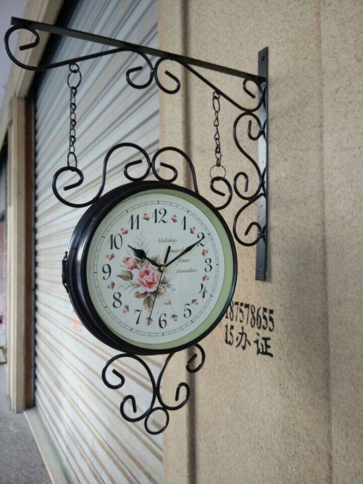 Popular two faced clock buy cheap two faced clock lots from china two faced clock suppliers on - Decoratie corridor ...
