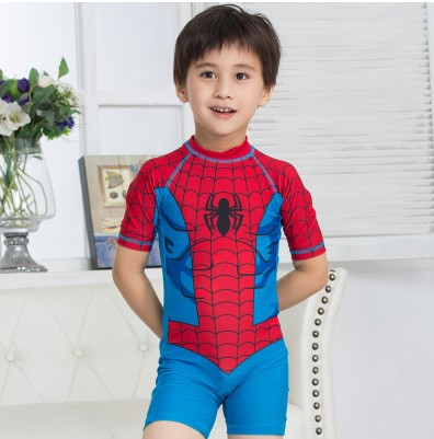 High Quality Small Children Summer Beach Wear 2016 Cartoon One Pieces Boys Swimming Suit <br><br>Aliexpress