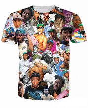 Buy Women Men 3D tee Tyler Creator Paparazzi T-Shirt wild rapper Tyler Okonma T Shirts Wolf Haley tees Ace Thurnis Haley Tops for $11.19 in AliExpress store