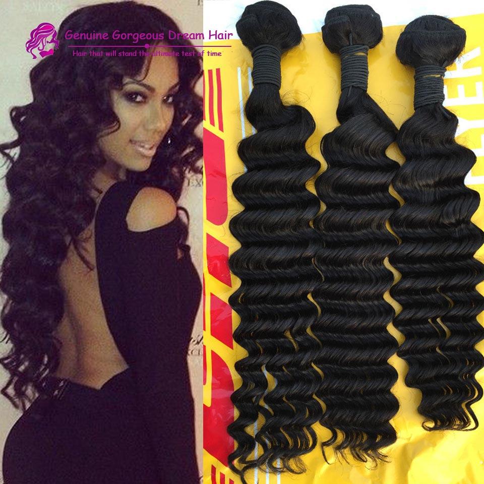 Grade 7A Virgin Hair Weave Brazilian Deep wave Virgin Hair Remy Human Hair Bundles Deep Curly Virgin Hair Weave<br><br>Aliexpress