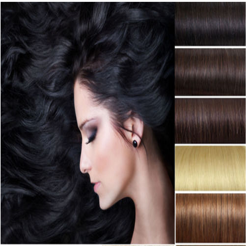 Real Quality 17 Hot Sale Straight Long 3 Color 170g 8Pieces Full Head Clip in Hair Extensions hire pad Free Shipping<br><br>Aliexpress