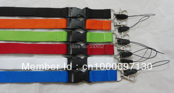 2014 Free Shipping hot sell 12pcs/lot Lanyard/ MP3/4 cell phone/ keychains /Neck Strap Lanyard WHOLESALE SLING