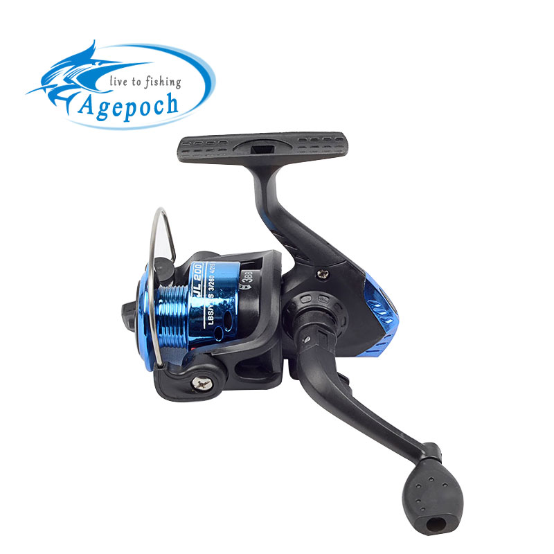 Agepoch 3BB Spinning Spin Drag Water Pen Mini Small Fishing Reel Feeder Carp Cast China Equipment Gear Sea Spool Peche Ice Wheel(China (Mainland))