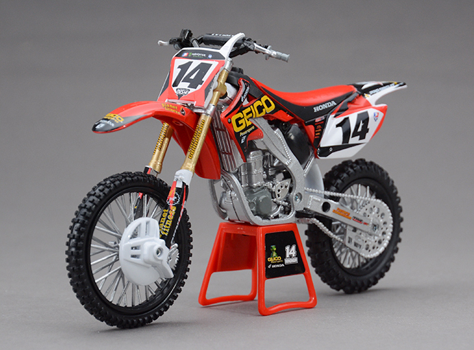NEWRAY H ONDA CRF450R 2012 1:12 scale models Alloy motorcycle racing model motorcycle model Toys Toy motorcycle(China (Mainland))