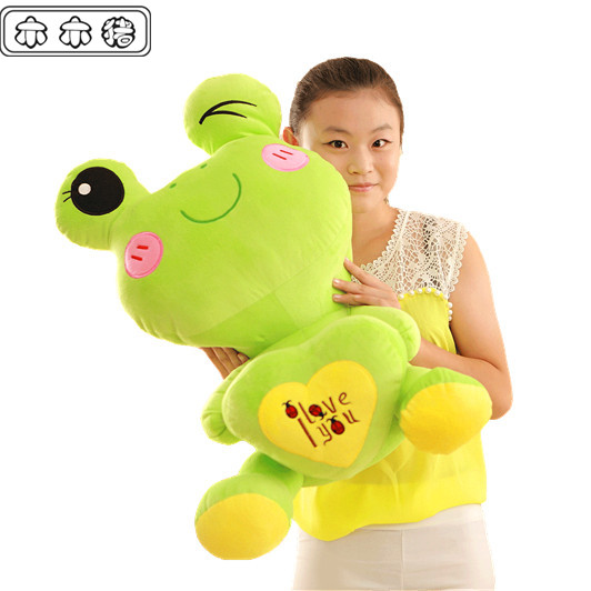 about 55cm  frog doll love frog pillow i love you  plush toy doll lovers gift t856f<br><br>Aliexpress